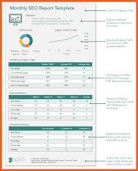 seo monthly report template 4 5 template report resumeheader