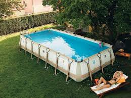 Where To Put A Pool In Your Backyard Above Ground Swimming Pools Home Design