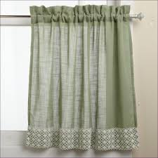 Damask Kitchen Curtains by Living Room Ivory Kitchen Curtains Jacquard Curtains White Lace