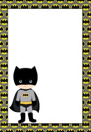 free printable batman invitations cards labels fiesta