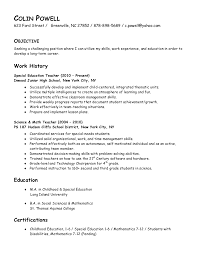resume samples education resume samples expert resumes teacher