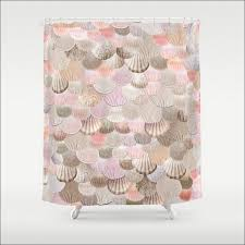 Shower Curtains With Fish Theme Bathroom Wonderful Beach House Shower Curtain Shell Shower Hooks