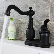Single Handle Bathroom Sink Faucet by Holes In Oil Rubbed Bronze Centerset Single Handle Bathroom Sink