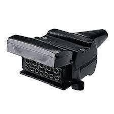 12 pin flat reed switch trailer socket connector trailer caravan 7