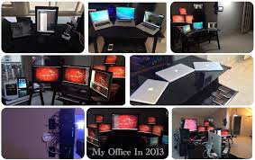 mac setups the desk of a cyber security professional