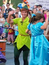 wendy and peter pan in celebrate a street party a photo on