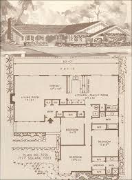 Storybook Floor Plans Design No Plan No 3721 Hiawatha T Estes U0027 C 1960 Ranch And