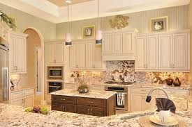miami beige kitchen cabinets traditional with wood island modern