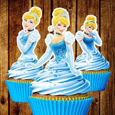 cinderella cupcake toppers printable princess cinderella cupcake toppers disney cupcake