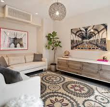 Air Conditioner Covers Interior Brooklyn Heights Contemporary Living Room San Francisco By