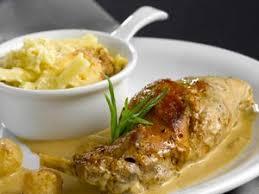 cuisiner le lapin à la moutarde lapin à la moutarde sans vin blanc facile recette sur cuisine