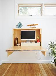 folding desks for small spaces built in folding desk in a backyard addition at a massachusetts home