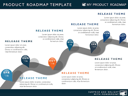 Free Powerpoint Timeline Template Download Road Map Timeline Major Tourist Attractions Maps