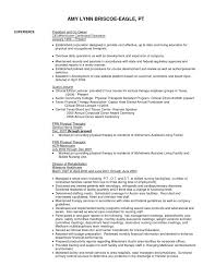 physical therapist resume resume template for physical therapist assistant best of physical