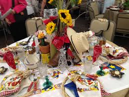 themed table decorations interior design new mexican themed table decorations best home