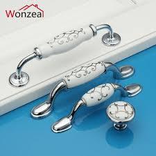 kitchen cabinet door knobs cheap zinc alloy ceramic dresser pulls drawer furniture handles ceramic kitchen cabinet door knobs silver knobs pulls porcelain