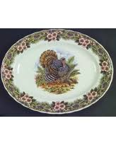 new savings on turkey gobbler thanksgiving serving platter 13