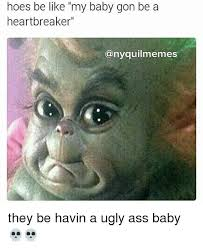 Baby Monkey Meme - baby gon a a my heartbreaker any quilmemes they be havin a ugly