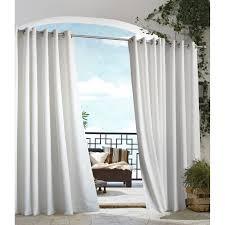 gazebo indoor outdoor grommet top curtain panel free shipping