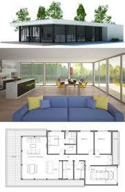 Modern Minimalist House Plan House Plans Contemporary Modern