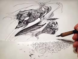 pen and ink drawings by philip frank u2013 fubiz media