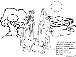 coloring page abraham and sarah abraham and sarah coloring pages bible coloring sheets abraham and