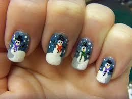 teeny tiny snowman nail art design youtube