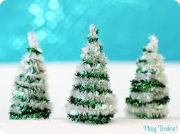 diy pipe cleaner trees craft pipes plays and craft