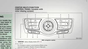 2012 nissan murano navigation system owners manual youtube