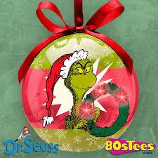 grinch led ornament dr seuss ornament