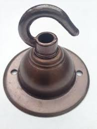 Hook For Ceiling Light by Age Old Brass Industrial Ceiling Rose With Hook Creates A Vintage