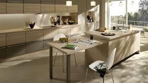 ilot central table cuisine modele cuisine avec ilot central table 5 cuisine leicht et