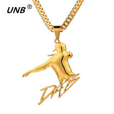 aliexpress buy new arrival men jewelry gold silver aliexpress buy unb big men necklace sport pendant hip