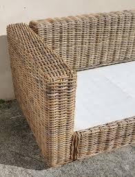 canapé rotin maison du monde broc co fauteuils salon chaises tables basses pouf bambou