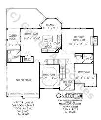 waterville house plan house plans by garrell associates inc