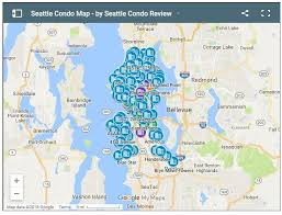 seattle map our new and improved seattle condominium building map