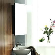 Bathroom Mirror With Storage Storage Mirror Plantbasedsolutions Co