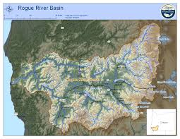Map Southern Oregon by Rogue River Watershed U2014 Rogue Riverkeeper