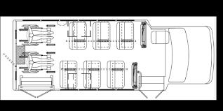 school bus floor plan school bus floorplan 12p 2wc commtrans service center