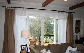 Inexpensive Window Treatments For Sliding Glass Doors - extraordinary sheer curtains for sliding glass doors 31 with