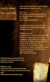 17 best chapter 4 what does the bible really teach who is jesus