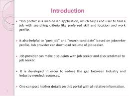 Resume Of Job Application by Jobportal
