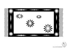 tappeto disegno disegno di tappeto da colorare per bambini