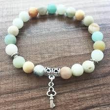 love bead bracelet images Mala beads bracelets natural stone round bead bracelet 8mm matte jpg