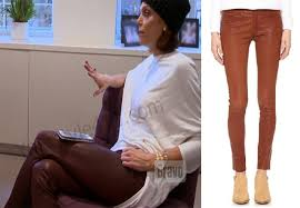 Real Leather Leggings Real Housewives Of New York Season 8 Episode 14 U2013 Bethenny S