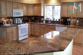 Maple Kitchen Cabinets With Granite Countertops Crema Bordeaux Countertop Not Exactly The Preferred Shade But