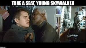 Take A Seat Meme - this is outrageous this is unfair prequelmemes