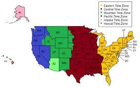 map of usa time zones usa zone map map of time zone for us us and canada time zone map