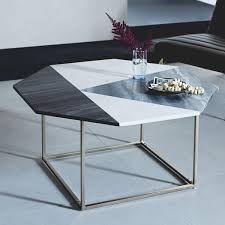 west elm accent table modern marquetry marble coffee table west elm uk end duluthhomeloan