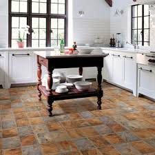 kitchens flooring idea realistique highland slate by mannington